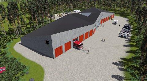 FLERBRUK: Tirsdag kveld vil kommunestyret trolig vedta å samlokalisere brannvesenet, teknisk uteseksjon og ambulansetjenesten i nytt bygg på Sjøli utenfor Skotterud.