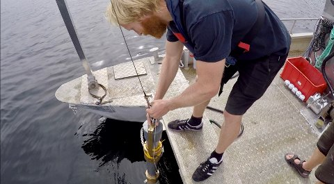 I kjerneprøver fra alle 20 prøvestasjoner i Mjøsa ble det funnet mikroplast.