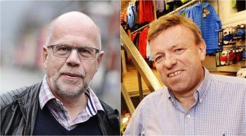 Per Tore Teksum og Geir Husum søker korona-midler.