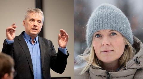Knut Storberget og Ingunn Trosholmen etterlyser økonomisk kompensasjon på Olympiaparkens vegne.