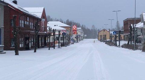 SNØ: Statsmeteorologen spår snø i Brandbu (bildet) og på Hadeland i starten av kommende uke.