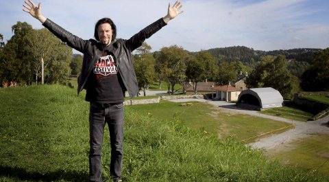 GLEDER SEG: Svein Bjørge i Tons of Rock jobber allerede for fullt med Tons of Rock 2016.Arkivfoto: M ORTEN ULEKLEIV