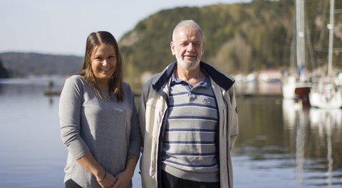 UTVIDER TILBUDET: Extra Givergledes daglig leder, Mikaela Caci, og nestleder Rolf Karlsen gleder seg til både sommercamp og Besseggen-tur.