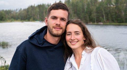 Esra Maloku (27) fra Sarpsborg og Arber Topallaj (27) fra Selbak kom på fjerde plass i finalen på Sommerhytta.