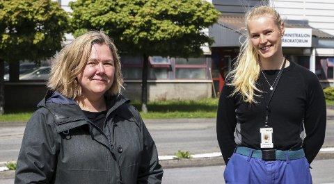 Norsk Industri: For Solrun og Mari var valet om karriere innan norsk industri naturleg. På TTI trivst dei godt, i eit godt arbeidsmiljø, og med både fysiske og mentale utfordringar. alle foto: Inga øygard Jaastad