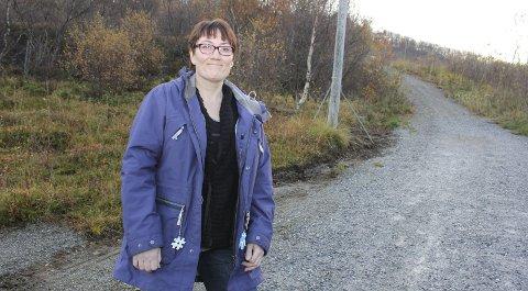 Kjemper for åsen: Hanne Nora Nilssen (V) kjemper nå for å bevare Åsen i sin helhet som friområde. Det har kommet forslag om en ny markagrensem og høringsfristen er 26. august. Hun ber nå folk komme med sine innsigelser.