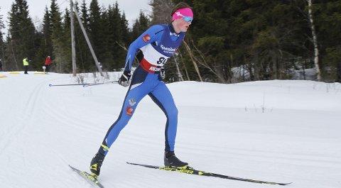 TEST FOR HOVEDLANDSRENNET: I helga gikk Morten Hjørnerød to renn i Nordlandscupen på Aufles. Hans store mål i vinter er Hovedlandsrennet om fjorten dager og NNM på hjemmebane om en måned.  FOTO: PER VIKAN