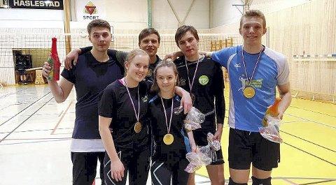 Vinnerlag: – En fantastisk natt med volleyball. Vi gleder oss allerede til neste år, er tilbakemeldingene.
