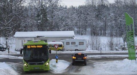 Omfattende: Moss kommune har bedt befolkningen på Sjøhagen om å si sin mening om busstilbudet og trafikken gjennom området.