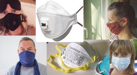 Etterspurt: Det er stor etterspørsel etter ansiktsmasker, men vet du hvilke typer som fungerer best?