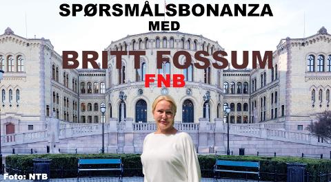 Klarte Britt Fossum å slå de andre politikerne? Foto: NTB og Kaja Stoltenberg