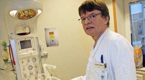 avdelingsleder Ingard Nilsen er kritisk til deler av helsetilsynets rapport. Foto: Sissel Wessel Hansen