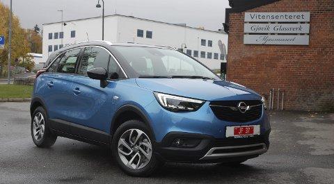 DAGENS TREND: Opel bytter ut mini-flerbruksbilen Meriva med crossoveren Crossland-X, og gjør seg med det klar for et vesentlig større innhogg i markedet.FOTO: ØYVIN SØRAA
