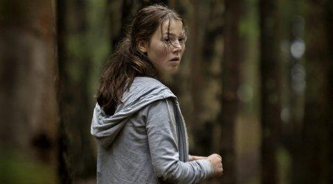 SKAPER DEBATT: Andrea Berntzen i rollen som Kaja i Erik Poppes film «Utøya 22. juli» som vises nå på Gjøvik kino.