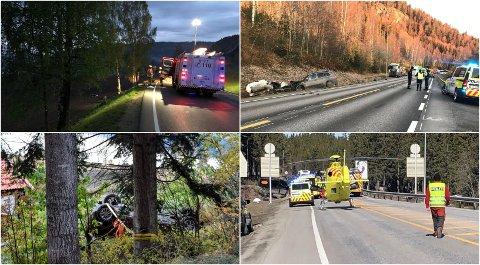 OMKOM: Seks sjåfører og én passasjer omkom på veiene i Oppland i 2019. Seks av sju omkomne mistet livet på de veiene som OAs lesere ferdes mest.
