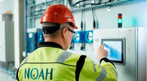 NOAH planlegger et storstilt gjenvinningsprosjekt på Herøya. Målet er å gjenvinne saltene fra flyveaske.