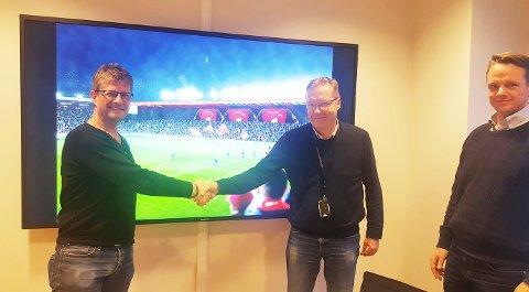 STORKONTRAKT: Trond Aas sikret Metacon kontrakt med byggingen av Brann stadion denne uken.
