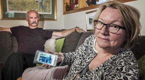 BLIR BRA: Marit Tennfjord og Alf Per Korsnes slapp fra kollisjonen med bruddskader. –Vi blir bra igjen, bare det får tid til å gro, sier Tennfjord. Foto: Øyvind Bratt