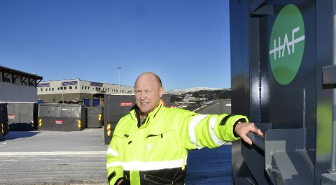 Geir Nerdal hos HAF. Foto: Hugo Charles Hansen