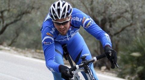 Bestemann: Max Emil Kørner ble Team Ringeriks-Krafts beste på en 91. plass. Heller ikke han unngikk velt på åpningsdagen.Arkivfoto