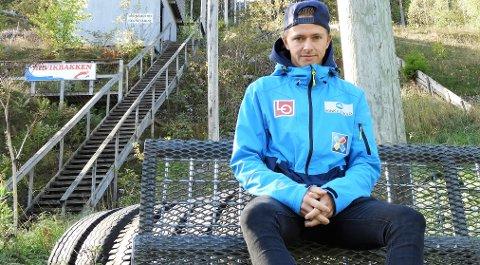 KLAR FOR NY COC: Joacim Ø Bjøreng er med i Continentalcupen når den går videre til Finland etter sesongåpning i Vikersund sist helg.