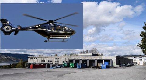 NYETABLERING: Østnes Helocopters etablerer seg i Hov med delelager og verksted for Airbus helikoptre. Det betyr at avdelingen på Torp bygges ned.