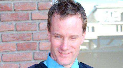 Alarm: Stian Hovinbøle er varabrannsjef i Porsgrunn.