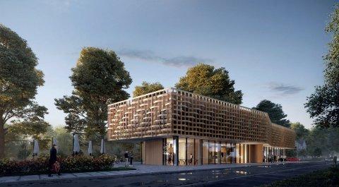 NYTT BYGG: Det nye bygget til Telemark museum vil kunne stå ferdig i 2020. Nå er finansieringen på plass.
