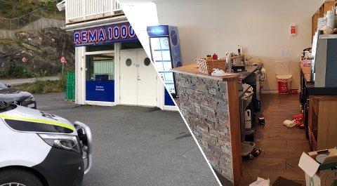 INNBRUDD: Tre menn i 30-årene ble pågrepet under et døgn etter at de angivelig skal ha brutt seg inn hos Rema 1000 og Sveia på Heia. Nå må en av dem møte i retten.