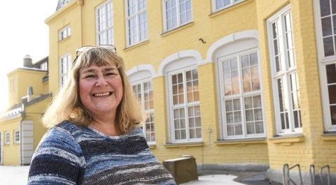 Familiehuset: Kari Myrene stortrives som ansatt på helsestasjonen hvor hun møter mange spennende mennesker.