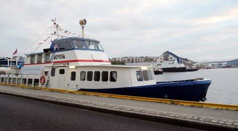 Bokbåten Epos.