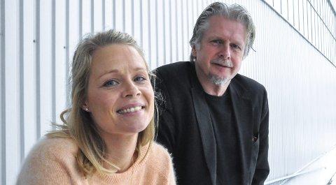 UTVIDER: Psykolog og terapeut Hege Wigenes Stuvøy og psykolog Arne Repål tilbyr nettbasert behandling av angst. Begge tror opplegget kan brukes til behandling av flere typer psykiske lidelser. Foto: Asbjørn Olav Lien
