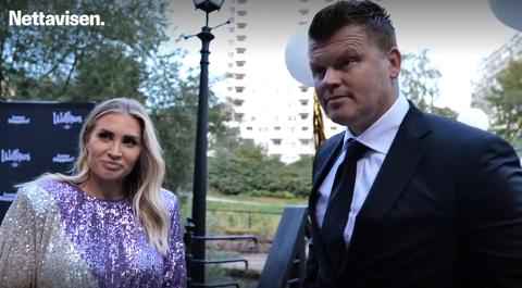 GOD TONE: John Arne Riise og Louise Angelica Riise åpner opp om skilsmissen.