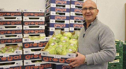 Anders Lunde, som eier og driver frukt- og grønt-grossist-selskapet Lunde Gård Engros, har kjøpt en av Tvedestrands største landbrukseiendommer, og søker om konsesjon. Arkivfoto