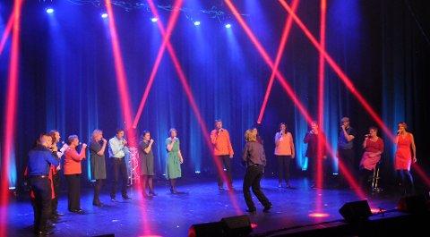 Kurve-show: og jubileumskonsert på Fagernes, september ifjor.