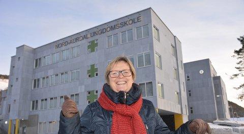 MÅ STÅ SAMMEN: Inger Torun Klosbøle erkjenner at Valdres må stå på enda hardere for å nå fram i det nye og større fylkestinget.