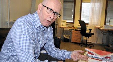 Atle Sønsteli Johansen er leder i LOs juridiske avdeling.