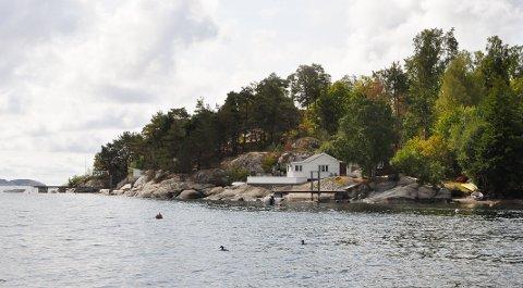 FESTEAVGIFT: Eieren av tomten hvor denne hytta ligger ville øke festeavgiften fra 1.777 til 29.537 kroner i året. Sandefjord tingrett mener det er altfor mye.