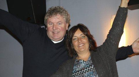 Pål Andresen og Hege Elnæs gleder seg til atter en gang å samle Frogns kulturungdom.