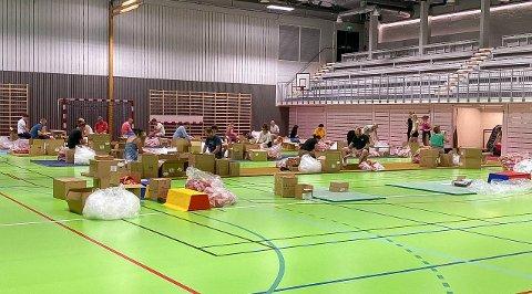 MOBILISERTE: DFI måtte mobilisere mange medlemmer for å få i land dugnaden for IDÈ House of Brands og Stiftelsen Norsk Luftambulanse. Belønningen var 90.000 kroner i klubbkassa.
