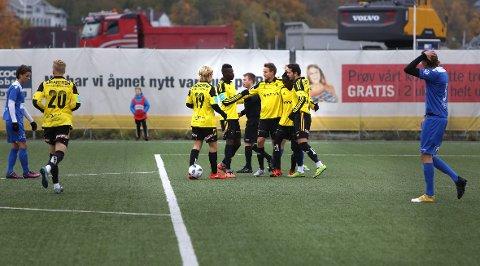 AVANSERTE: Bærum slo Oppsal og avanserte til andre runde i cupen torsdag. Bildet er fra en tidligere kamp.
