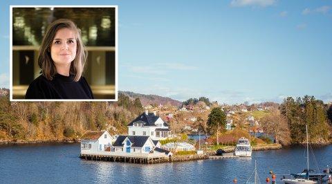 VESTLAND: Linda Bolstad i Mothership Entertainment meiner det er behov for fleire ungdomsseriar som finn stad på Vestlandet. Blant stadene dei har sett på for innspeling er Solholmen i Alverstraumen.