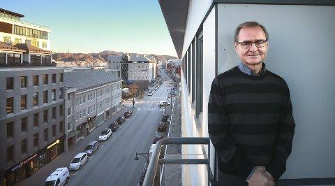 Lars Vorland har vært Helse Nords øverste leder i 15 år. 69-åringen har ved flere anledninger det siste året hintet om at hans yrkeskarriere snart er slutt. Foto: Tom Melby