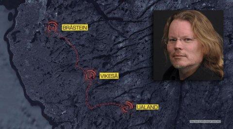 Mobilspor: I mandagens episode av Åsted Norge kunne politiet opplyse om nye mobilspor i Kamphuis-mysteriet.