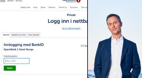 Konserndirektør for kommunikasjon og samfunn hos Sparebank 1 Nord-Norge, Stein Vidar Loftås