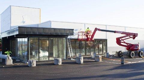 TO UKER TIL ÅPNING: Rema 1000-butikken på Ormåsen åpner dørene torsdag 23. november.