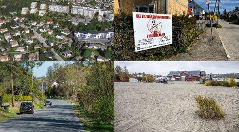 På disse fire stedene er det planer om fremtidige boligprosjekter. Planene er helt i startfasen, men alle prosjektene risikerer å bli avvist i planutvalget. Øverst fra venstre: Fagerliveien og Riisløkka. Nederst: Mørkedalen og Ålekilen.