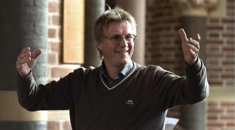 Erfarne dirigenter: Øystein Fevang skal ha kurs for erfarne dirigenter.