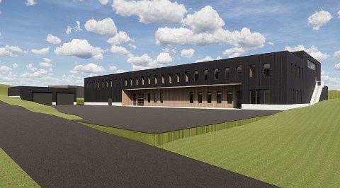NYTT BYGG: Consto Nord har fått kontrakten med å bygge et såkalt logistikkbygg på Evenes flystasjon.