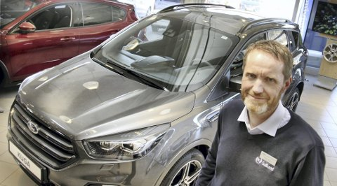 DIESEL: – Dieselbiler er langt bedre enn sitt rykte, mener daglig leder ved Sulland Kongsvinger, Reidar Bekken.